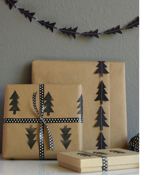 How to Wrap a Christmas Gifts (30 beautiful ideas)10