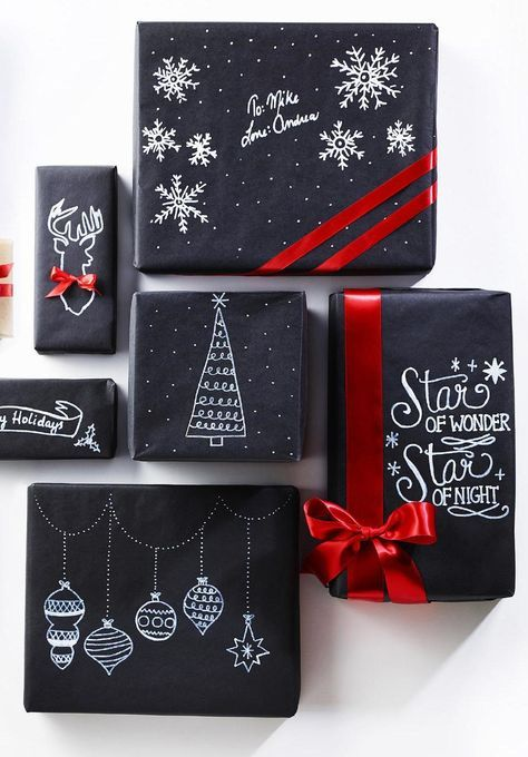 How to Wrap a Christmas Gifts (30 beautiful ideas)12