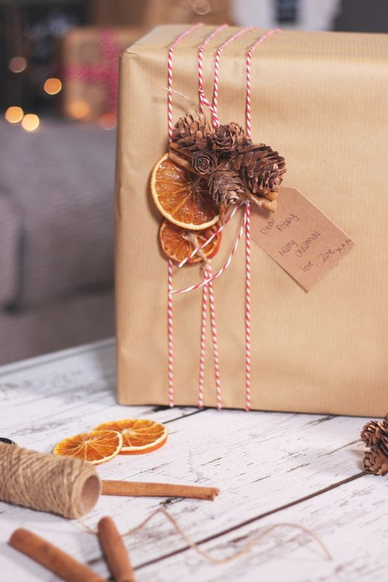 How to Wrap a Christmas Gifts (30 beautiful ideas)15