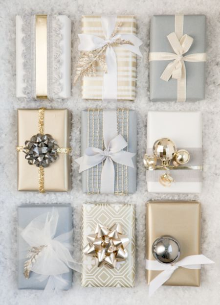 How to Wrap a Christmas Gifts (30 beautiful ideas)17