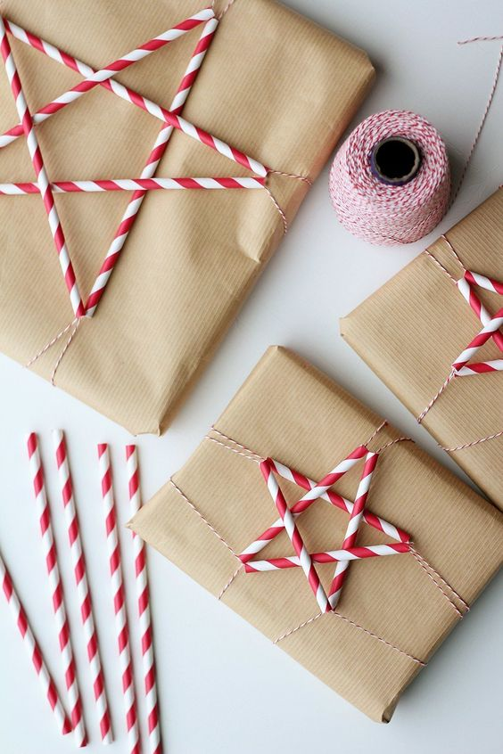 How to Wrap a Christmas Gifts (30 beautiful ideas)19