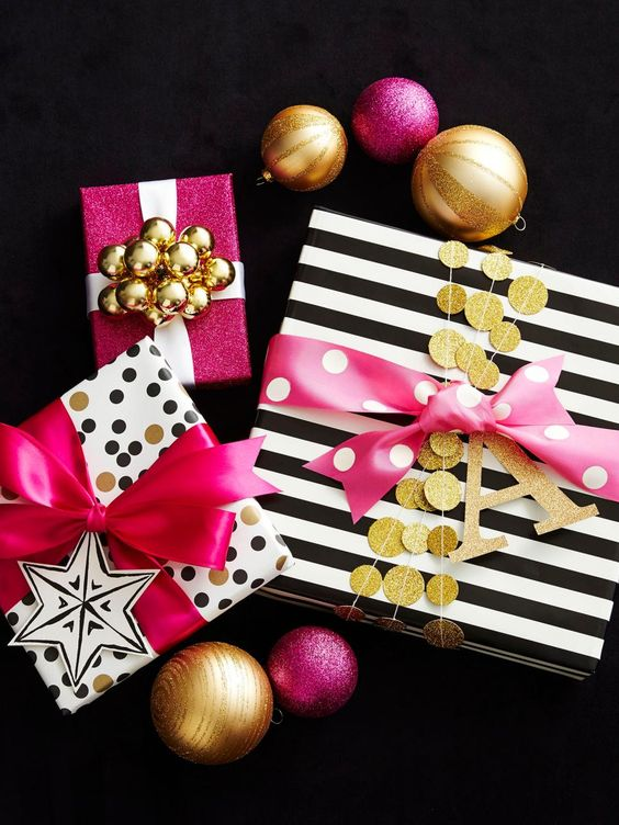 How to Wrap a Christmas Gifts (30 beautiful ideas)2