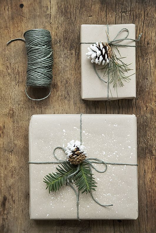 How to Wrap a Christmas Gifts (30 beautiful ideas)25