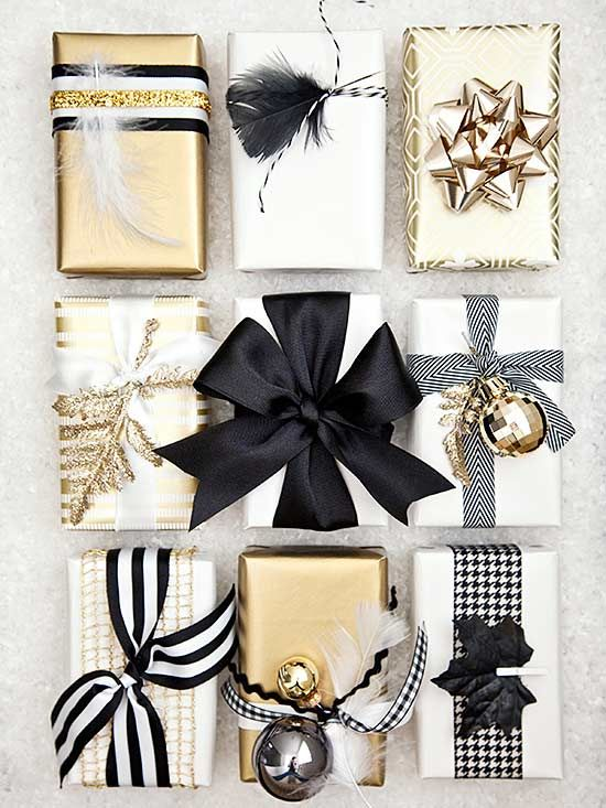 How to Wrap a Christmas Gifts (30 beautiful ideas)26