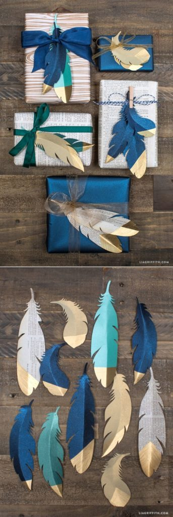 How to Wrap a Christmas Gifts (30 beautiful ideas)27