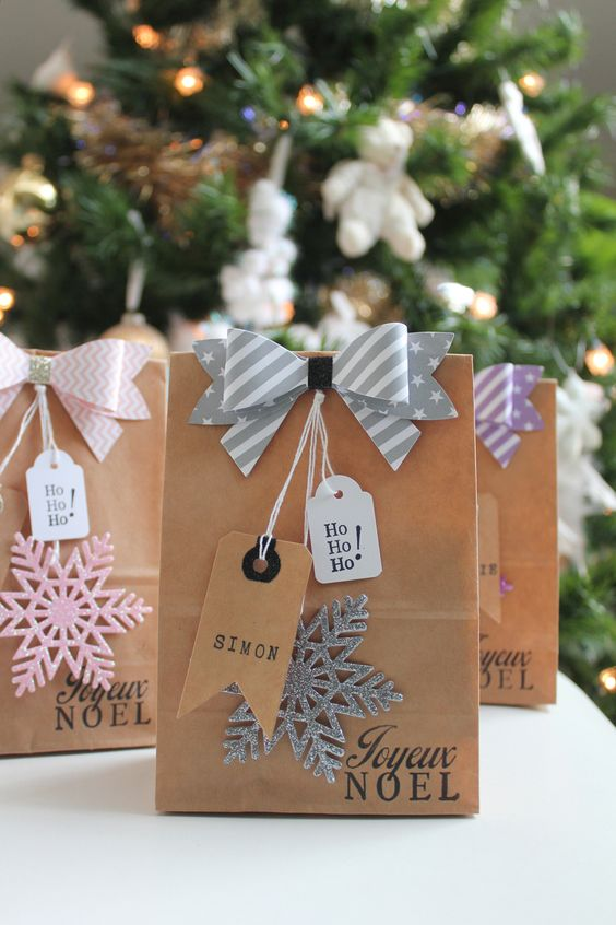 How to Wrap a Christmas Gifts (30 beautiful ideas)28
