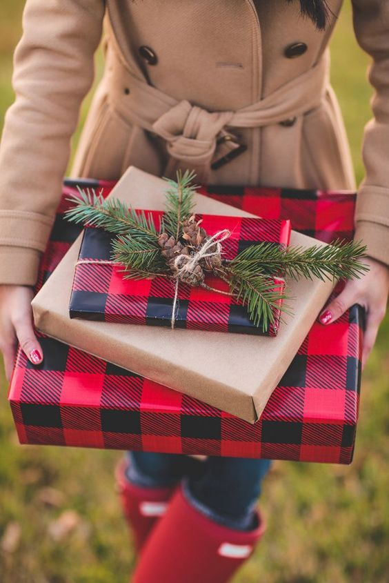 How to Wrap a Christmas Gifts (30 beautiful ideas)6